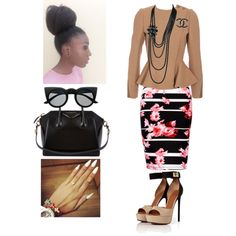 Holy Convocation!!! by cogic-fashion on Polyvore featuring polyvore, fashion, style, STELLA McCARTNEY, Thalia Sodi, Givenchy and Chanel