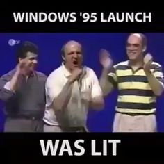 Windows 10 launch party was mandatory