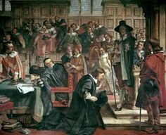 On 4 January 1642, King Charles I entered the House of Commons to arrest the Five Members of Parliament for high treason.