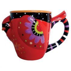 Red Cardinal Coffee Mug. Cardinals are very sentimental to me.