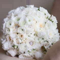 Jewel-accented bouquet