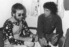 Elton, 1970 with beard.