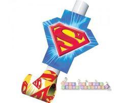 Superman Party Blowouts / Favors (8ct)