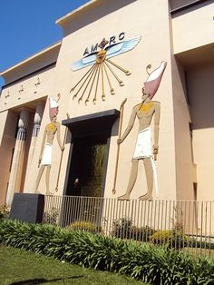 EGYPTIAN MUSEUM AT THE BACACHERI AREA IN CURITIBA CITY.