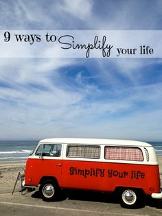 9 Ways to Simplify Your Life - great ideas and tips to make life simple Less Is More, Simple Living, Self Development, Getting Organized, Self Improvement, Simple Way, Helpful Hints, Life Is Good, Life Hacks