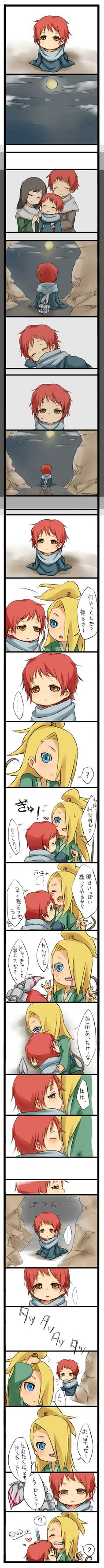 Deidara And Sasori is sooooo cute!!♥♥