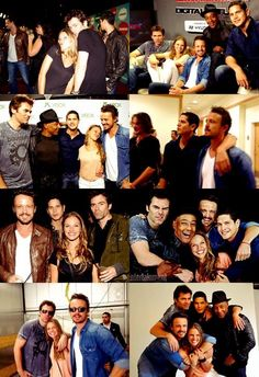 Revolution cast at Comic-Con Revolution Tv Show, David Lyons, Billy Burke, The Lucky One, Handsome Actors, The Republic, Breaking Bad, Great Movies, Best Shows Ever