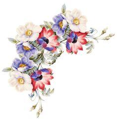красивые цветы для декупажа png: 24 тыс изображений найдено в Яндекс.Картинках