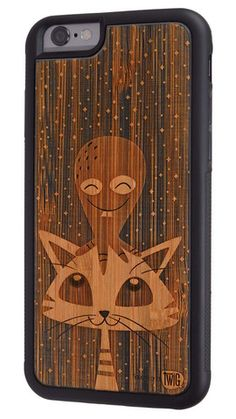 Pussypus - #Bamboo & #Paper #Case for #iPhone 6 & 6 Plus - Twig Case Co.