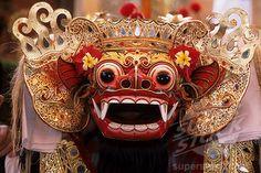 Barong mask, Bali