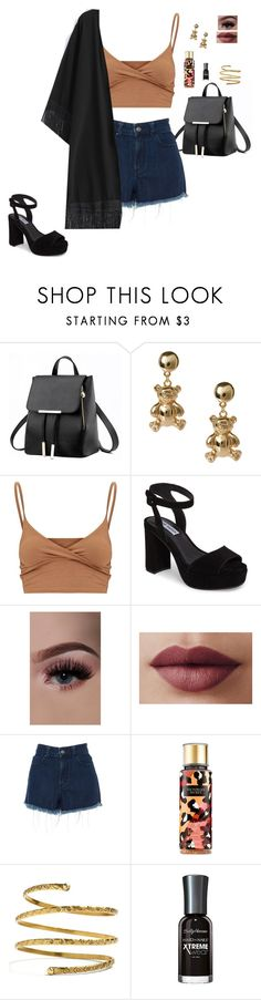 """""""Sin título #350"""" by marissag7 ❤ liked on Polyvore featuring ASOS, Steve Madden, Amen Couture, Victoria's Secret, Venus and Sally Hansen"""