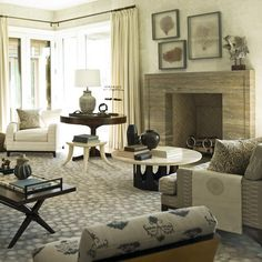 Bridgehampton Beach House - S.R. Gambrel. #laylagrayce #livingroom
