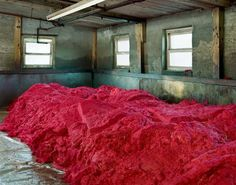 Made in USA: Textiles, photographs series by Christopher Payne. Twenty-five of the last textile mills in New England.