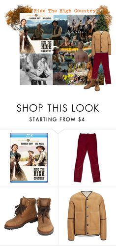"""""""Movie Nights to Remember: Ride The High Country"""" by cocodobard ❤ liked on Polyvore featuring Haider Ackermann, Chanel and country"""