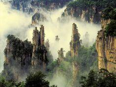 Wulingyuan,  Hunan Province, Zhangjiajie, China