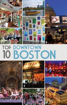To celebrate my 10th year of living in Boston, I'm sharing my top 10 favorite things to do in various parts of the greater Boston Area. Some famous, some not. Some popular, some random. Here are so...