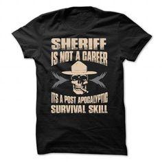 SHERIFF - #t shirts #custom hoodies. CHEAP PRICE:  => https://www.sunfrog.com/LifeStyle/SHERIFF-Black-68845970-Guys.html?id=60505