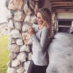 Fight the winter with long sleeve cozy tops and leggings from Contempo. Shop the look at www.contemposhop.co.za