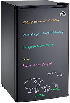 Pros and Cons of the Igloo Dry Erase Mini Fridge, Special Features, Which Markers to Use and Whether or Not You Should Paint Your Own Chalkboard Fridge or Not - Which Option Saves You Money?
