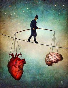 All the things I've never said...: Head vs. Heart
