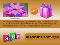 We are ready to buy a new television anywhere, but our problem is to get a television on our budget and with no extra charges. This is our needs before buying a new television. Blackfridaylcdtv.com here we fulfil your dream on any time to get a right television. http://goo.gl/y8j3pK