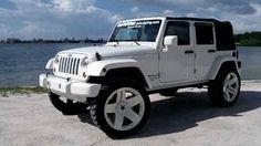white 4 door jeep wrangler - ♡♡♥♥ just got one!! Love my jeep.