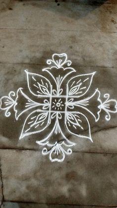 #nikolashadssdd Free Hand Designs, Free Hand Rangoli Design, Rangoli Patterns, Rangoli Ideas, Rangoli Designs With Dots, Rangoli Designs Images, Rangoli Designs Diwali, Kolam Rangoli, Flower Rangoli