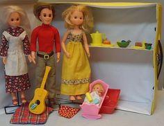 Vintage Doll Sunshine Happy Family Baby Sweets Grandma Steven Steffie Case Lot