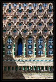 Arte Mudejar en Teruel.  The Mudéjar style, a symbiosis of techniques and ways of understanding architecture resulting from Muslim and Christian cultures living side by side, emerged as an architectural style in the 12th century on the Iberian peninsula.