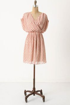 """$100 on sale """"Collecting Dots"""" dress at Anthro."""
