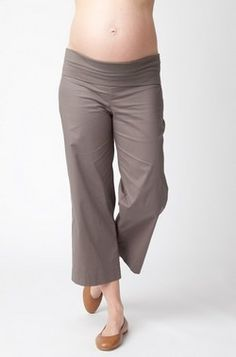Ripe Maternity Smith Capris - well fitting casual capri for a ...