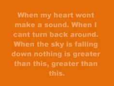 Brandon Heath ~ Love Never Fails this is officially my favorite Christian song of all time!