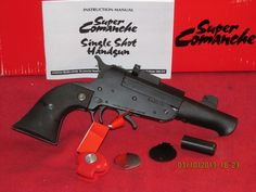 Super Comanche pistol 45LC/410 Ga