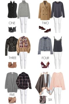 6 Ways To Wear: White Jeans For Fall