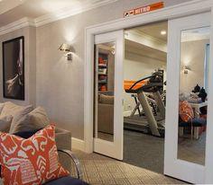 Basement Workout Room - Design, decor, photos, pictures, ideas ...
