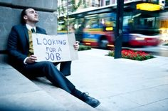 Unemployment has to do with not having a job.