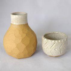 Ceramic Boulder Bedside Carafes from Otherwild