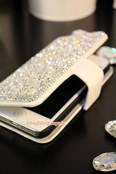 Bling Charm Swarovski Crystal Case iphone by blingblingsupply, $29.50