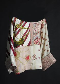 La Prestic Ouiston: mariniere julie, made from vintage silk scarves