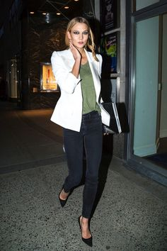 Model-Off-Duty Style: Steal Karlie Kloss' Date Night Look For Spring | Le Fashion | Bloglovin'