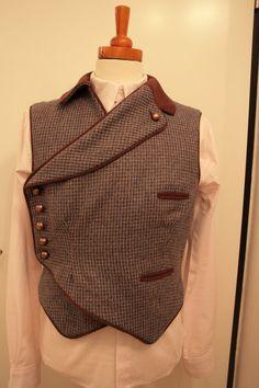 Cross-over Steampunk vest Militaria