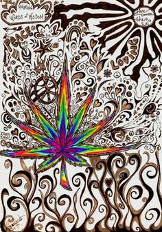 Well cannabis tutorials has every how to guide for cannabis you could ever ask for. Marijuana Art, Medical Marijuana, Cannabis Plant, Stoner Art, Weed Art, Psy Art, Hippie Art, Ganja, Psychedelic Art