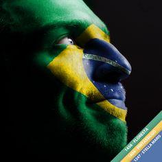 Quem vai começar a semana vestindo verde e amarelo pra dar sorte ao Brasil na Copa? #Brasil #CopaConfederacoes #Cores