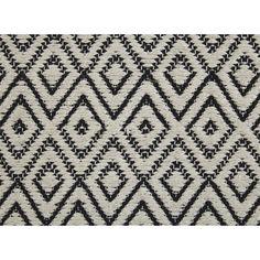 Vloerkleed Adana Creme/Zwart 170x240 cm