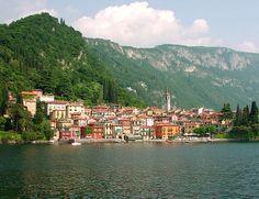 Varenna on the lake, Lake Como, Italy