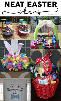 Neat Easter Ideas: Baskets, decor and more for your Easter celebration. images sunday school Easter Basket Idea for Teenagers Hoppy Easter, Easter Bunny, Easter Eggs, Easter Table, Easter Food, Easter 2020, Easter Parade, Easter Activities, Easter Crafts For Kids