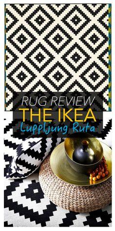 Should you buy the IKEA Lappljung Ruta rug? Check out my review: http://thelifecreativeblog.com/decor-furniture/buy-ikea-lappljung-ruta-rug/