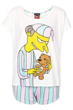 Mr Burns Pj Set - you don't understand how upset I am that these are all sold out.