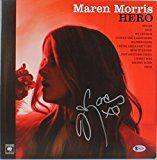 #5: Maren Morris Signed Hero Album Cover W/ Vinyl Autographed BAS #B62790