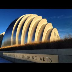 Kansas City Missouri, I havent been to this new building yet but I want to go.  Cant wait to see it.